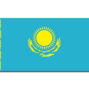 Drapeau / Pavillon du Kazakhstan – 90 x 150 cm