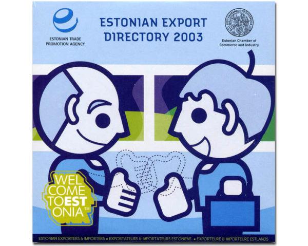esto11 – Estonie Export Directory 2003 Cd-Rom