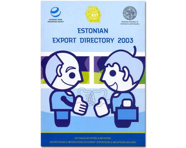 esto11 – Estonie Export Directory 2003 – livre
