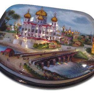 Fed1010 – Fedoskino – Cathédrale Saint Sauveur – Moscou