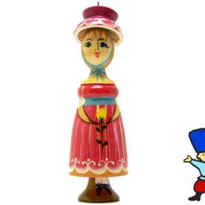 fig21B – Figurine Femme russe (Rose)