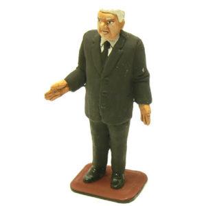 fig16 – Figurine en plomb de Boris Eltsine