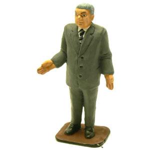 fig17 – Figurine en plomb de Boris Eltsine