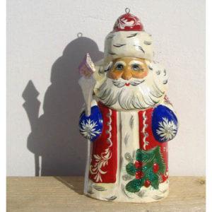 n001 – Figurine 'Père Noël Russe' pour le sapin de Noël