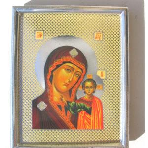 Icône orthodoxe de la Sainte Vierge auto-adhésive (Z15ICO-05)