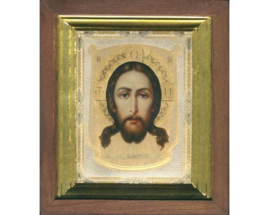 ico103 – Icône russe 'Jesus Christ' 23×20 cm