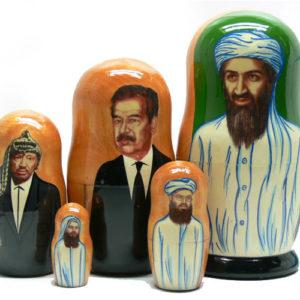 ma510 – Poupée russe 'Ben Laden'