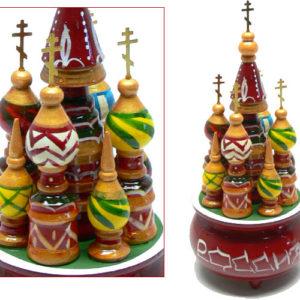 Manège musical de Moscou – 18 cm (jeu1001)