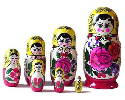 Matriochka 'Semenov' 7p. (MAS1007)