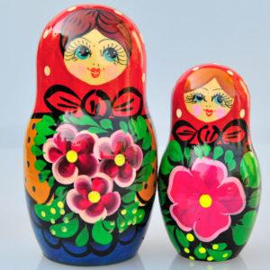 Matriochkas pour bonbons ou dragées, 2 pièces (K3MBO-03)