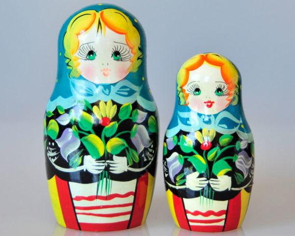 Matriochkas pour bonbons ou dragées, 2 pièces (K3MBO-05)