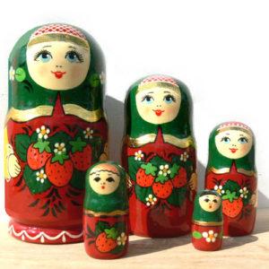 mn29 – Matriochka Olga – 5 pièces