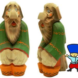 Moujik Russe en bois sculpté