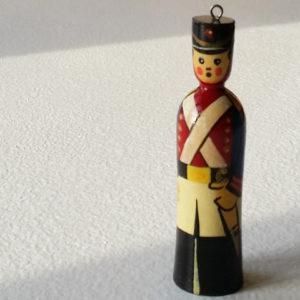 Figurine soldat russe – pour le sapin de Noël (B25-n010)