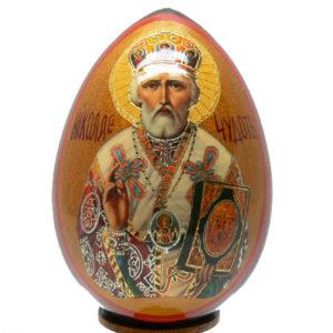 oei13 – Oeuf Russe représentation d'une icône