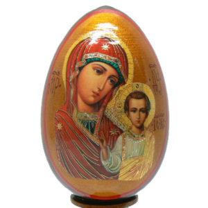 oei21 – Oeuf Russe représentation d'une icône