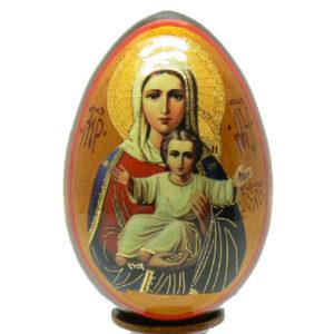 oei24 – Oeuf Russe représentation d'une icône