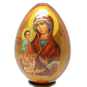 oei28 – Oeuf Russe représentation d'une icône