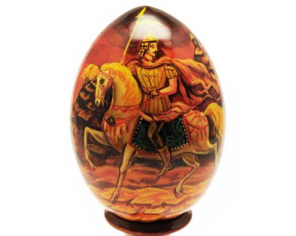 Oeuf en bois peint – Prince Igor – 10 cm (FA-OE2521)