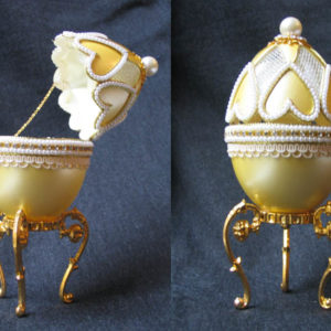 of15128 – Oeuf écrin style Fabergé