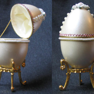 of15217 – Oeuf écrin style Fabergé