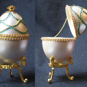 of15223 – Oeuf écrin style Fabergé