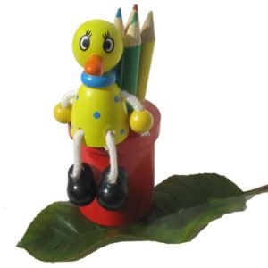 Rép. Tchèque (Porte-crayons en bois) Canard