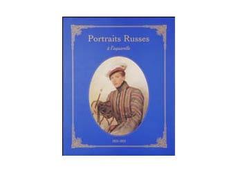 Album Luxe  'Portraits russes à l'aquarelle'