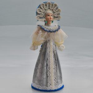 Poupée Femme Russe avec kokochnik 25 cm (occasion)