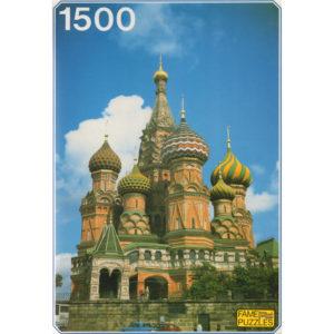 Puzzle 1500 pièces – Cathédrale St Basile le Bienheureux