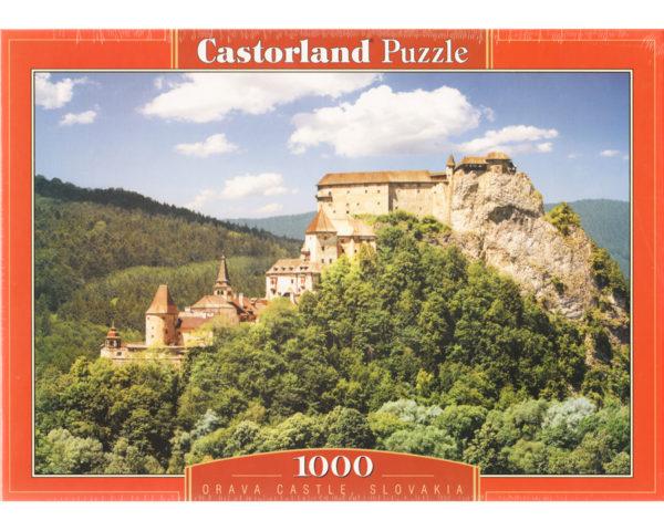 Puzzle 1000 pièces – Château Orava (Slovaquie)