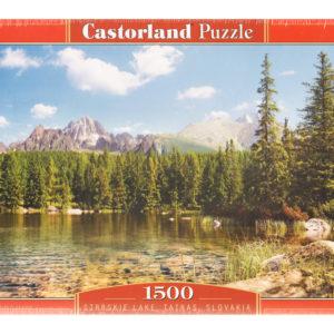 Puzzle 1500 pièces – Lac Strbskie, Tatras (Slovaquie)