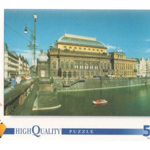 Puzzle  500 pièces – Théâtre National de Prague