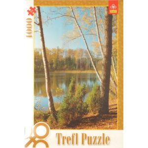 Puzzle 1000 pièces – Lac de Olsztyn (Pologne)