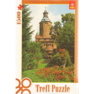 Puzzle 1500 pièces – Château de Czocha (Pologne)