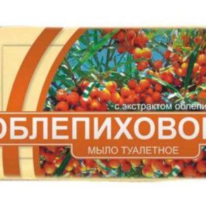 Véritable Savon Russe à l'huile d'argousier (облепиховое мыло)