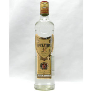 Vodka 'Muscatnaia' – 50 CL.